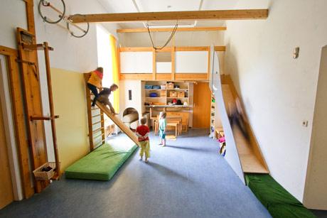 Kindergarten Tausendfüssler, Bewegungsraum
