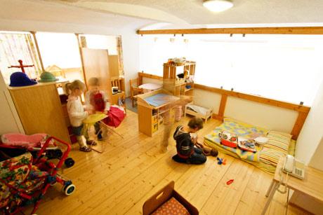 Kindergarten Tausendfüssler, Spielempore Bild 2